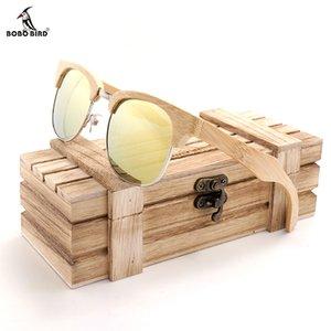 Atacado Mulheres Semi-Rimless Óculos De Sol Dos Homens Polarizados Retro Óculos De Sol De Madeira Verão 2018 lunette de femme
