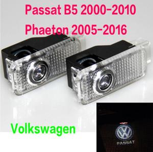 2X LED Spia luminosa con proiettore VW R R-LINE Logo PER Volkswagen VW Passat B5 B5.5 Phaeton Logo Ghost Shadow Lights