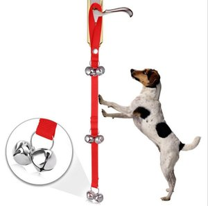 Pet Дверной Rope Dog Toy House Обучение и Связь сигнализации дверной звонок для собак удобны и практичны зоотоваров NT