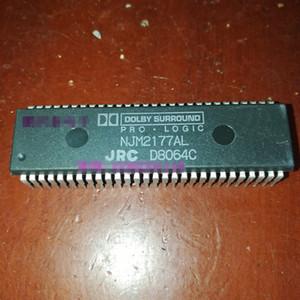 NJM2177AL. PDIP56, JRC Circuitos integrados de circuito integrado, doble paquete de plástico de 56 pines en línea Chips. NJM2177 DOLBY PRO LOGIC SURROUND DECODER IC