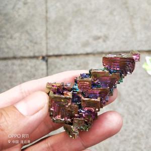 50g naturel minerai de mithril cristal Quartz coloré dépôt de mithril coloré mine argent artware artisanat poli pierres précieuses brutes brut