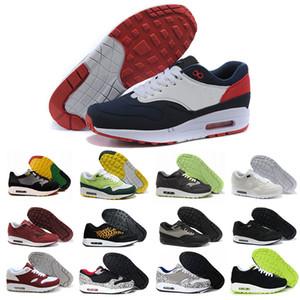 nike air max 1 87 airmax En gros  87 Atmos 1 90 Jour Premium lunaire 1 DELUXE Meilleur Qualité Hommes Femmes Taille Chaussures de Course livraison gratuite taille 40-45