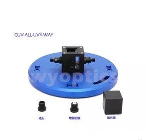 Cuvette CUV-UV Soporte CUV-ALL-UV4-WAY Transmisión Absorción Fluorescencia Excitación Medición de luz