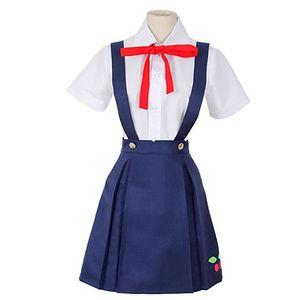 Bakemonogatari Cosplay Costume 하치 쿠지 마요이 드레스 할로윈 복장