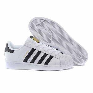 2018 novos mens smith sapatos casuais superstar feminino flat shoes mulheres zapatillas deportivas amantes mujer sapatos femininos sapatos 36-44