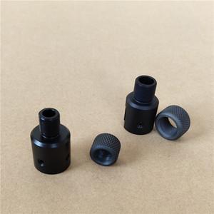 알루미늄 루거 1011 10-22 1 / 2-28 5 / 8-24 소염기 스레드 어댑터 강철 나사 수호자 0.223 0.308