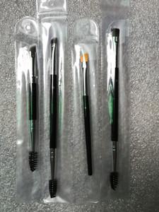 Pennello per sopracciglia sopracciglia # 7 # 12 # 15 # 20 Pennello sintetico per sopracciglia Duo Pennello per sopracciglia doppio Pennello per testine con confezione al dettaglio