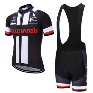 sunweb велоспорт Джерси мужчины с коротким рукавом горный велосипед одежда лето quick dry велоспорт одежда завод прямая продажа Майо Ciclismo 92819Y