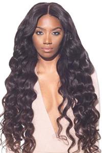 250% densité dentelle avant perruque pour cheveux humains vague de corps pour femmes noires, perruque frontale de cheveux vierge brésilienne de qualité supérieure