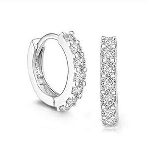 New 925 Pure Silver Earrings Einfache Ohrstecker Fashion Vibrato Mit den Pure Silver Earrings Cross Border Goods Earrings