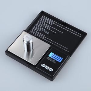 Mini Bolso Escala Digital 0.01x200g Moeda de Prata Jóias de Ouro Balança de Pesos LCD Balança Eletrônica Digital Balança de Balança