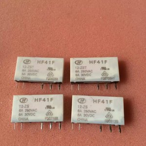 10pcs lot HF41F-12-ZS HF41F-12-ZST 12V relay USED BUT IN GOOD WORKING CONDITION