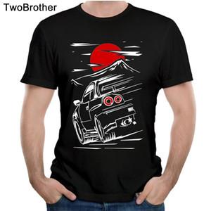 T-shirt Nuna Skyline GTR 34 Haruna Taglie forti T-shirt da uomo T-shirt Casual popolare Nizza a maniche corte