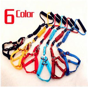 Nuovi rifornimenti caldi caldi del cane di animale domestico Collari per cani Guinzagli per cani Set Fashion Design 120CM Nylon Dog Leashes Alta qualità