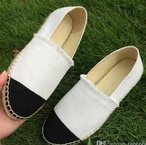 donne Scarpe di tela casual Espadrillas di primavera scarpe di stoffa di alta qualità per donna Scarpe da passeggio di moda Sneaker bicolore Lady Canvas