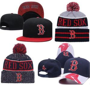 2019 Red Sox Hat Cappellino snapback Champions Red Sox beanie Tutti i team Uomo donna Berretti a maglia Berretto in lana Maglia berretto Berretto Gorro Berretto invernale