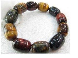 Freies Verschiffen 437 Augen-Armband des chinesischen Tigers / segnen Buddha bördelt Schnur Bracele
