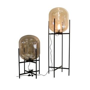 vendita all'ingrosso lampade da scrivania moderne nord Europa lampada da tavolo zucca zucca originalità AC90-260V camera da letto soggiorno lampada da terra