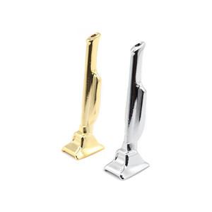 Silber Gold Metallrohre Trophy Form Rauchpfeifen Mühle Rauch-Tabak-Rohr Sniffer Schnupftabak Rohr für Glasbongs Bedarf Raucher