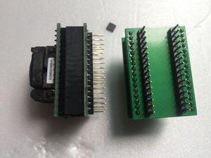 QFN32 DIP32 Soket Yakmak 32QN50S15050 IC Test Soketi QFN32P 0.5mm Pitch 5x5mm