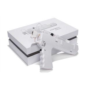 Injeção de alta pressão Vanádio Dispositivo de Titânio Clareamento Da Pele Agulha de Elevação Livre Mesoterapia Meso Gun Remoção de Rugas