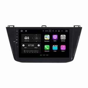 """10.1 """"안 드 로이드 7.1 자동차 라디오 GPS 멀티미디어 헤드 유닛 자동차 DVD VW 폭스 바겐 Tiguan 2016 2GB RAM 블루투스 미러 링크 USB DVR"""