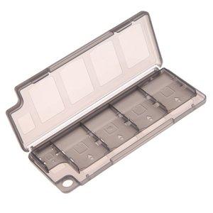 V1NF 10in1 jeu porte-carte mémoire boîte de rangement pour PS Vita ER PSV noir haute qualité jeu carte mémoire boîte cas
