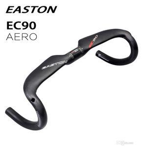 2018 EASTON EC90 carbono fibra bicicleta guiador partes estrada ciclismo AERO bicicleta guiador 31,8 milímetros * 400 420 440 milímetros gota barra dobrada fosco