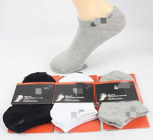 Pop Moda erkek Saf Pamuk Çorap Spor Anti-koku Moda Çorap Mark Logosu Kısa Yüksek Kalite Toptan Çorap
