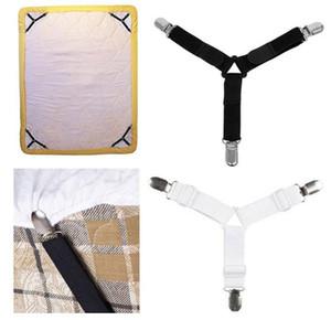 تعديل ملاءة سرير مقاطع غطاء القابضون حامل فراش حاف بطانية السحابة الأشرطة تحديد حزام مقاومة للانزلاق c767