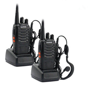 2 pcs Baofeng 888s walk talk UV-5RA Para Walkie Talkies Rádio Scanner Vhf Uhf 400-470 MHz Dual Band Cb Rádio Ham Transceptor dispositivo