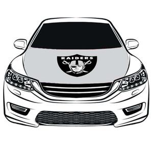 El equipo de EE. UU. Flag Car Cover Hood 3.3X5FT 100% poliéster, bandera del motor, telas elásticas se pueden lavar, pancarta del capó del coche