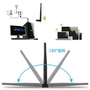Мини USB WiFi AC 600Mbps беспроводной адаптер 600 м ТВ компьютер LAN двухдиапазонный 2.4 G/5G 802.11 b / g / n / ac
