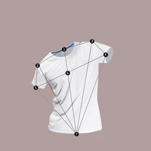 T-Shirt XS-4XL Uomo T-shirt con arricciatura Maglietta modale bianca tinta unita Manica corta Girocollo Abbigliamento da casa WX9-687