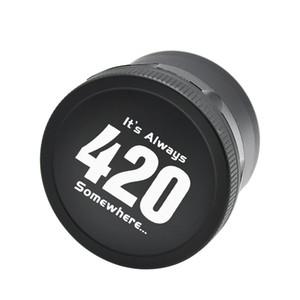 Die 420 Grinders Metal Grinders für Dry Herb 4 Lagen 63mm 2,48 Zoll Schwarz Silber Gold Hochwertiger Gewürzbrecher