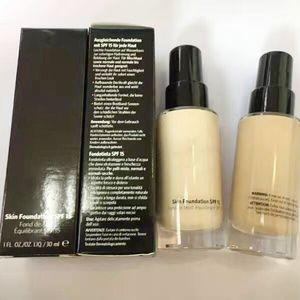 Bobi braune Haut Foundation SPF15 30ML Bobi flüssige Foundation Concealer Make-up lang-tragen sogar Finish Foundation 6color Mix