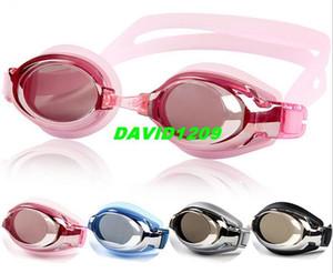 Men Women Anti-fog anti-ultraviolet adjustable swimming goggles unisex swim glasses sportswear diving equipment eyewear Free shipping DH