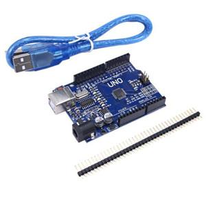 1 TEILE / LOS UNO R3 Entwicklungsboard MEGA328P CH340 CH340G Modul Treiber Schild Mit USB Kabel Standard Pins Repl