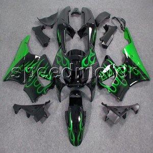 Cores + Presentes green flames 94-97 CBR 893RR capota da motocicleta Carenagem para HONDA CBR 900RR 1994 1995 1996 1997 ABS kit de plástico