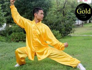 Костюм китайского династии Тан Корейский шелк / ушу / кунг-фу Костюм боевых искусств