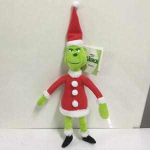 Горячая продажа 18 см 28 см 38 см Как Гринч украл рождественские мягкие плюшевые куклы 2018 новый мультфильм зеленый Гринч фигурку игрушки дети подарок