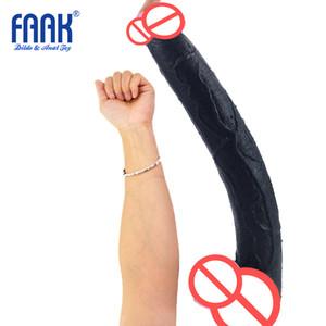 15.5inch Super Long Dildo 현실적인 39.5cm 매우 긴 페니스 큰 ButtPlug 깊은 삽입 섹스 제품 여성 여성 페티쉬 아날 딜도