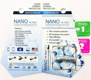 NANO Liquid Technology Displayschutzfolie Hartglas Invisible Liquid 9H 5D Full Cover für iPhone X Note 5 Samsung A8 Neuheit