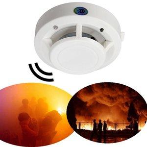 Detector de humo de alta sensibilidad Alarma 85DB DC 9 V Control de incendios Humo Gas Olor Sensor Detector de alarma de inducción Hogar con seguridad Seguridad