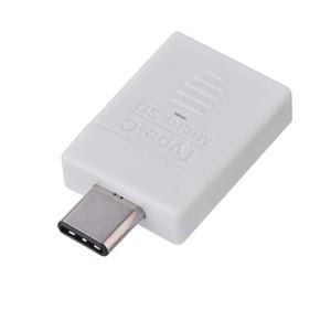 عالية السرعة USB 3.1 نوع- C USB OTG مايكرو SD / TF قارئ بطاقة الذاكرة لماك بوك / الروبوت العالمي
