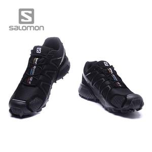Solomon Course libre Solomon Speed Cross 4 CS SENSE WINGS chaussures de course Marque Sneakers Athletic Sport Chaussures Solomons Escrime Chaussures formateurs PK