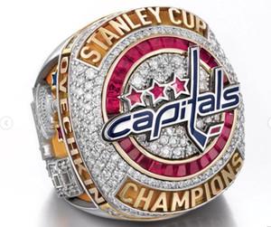 Novità 2017 2018 Washington Capitals OVECHKIN Anello Stanley Cup Championship Fan Regalo di Natale all'ingrosso Drop Shipping