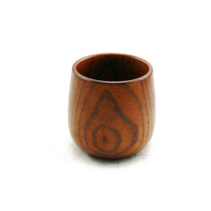 Wood Tea Cup Japanese Style Handmade Wooden Cups Wine Drinkware Mugs Safe Non-toxic And Healthy Kitchen Tools Gift