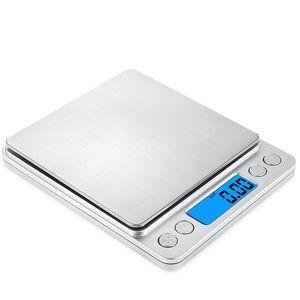 500g 0.01g 1000g 200g 3000g 0.1g Mini Digital Electronic Scale Portable Food Diet Jewelry Scales Herramientas de cocina Peso gramo Balance scale