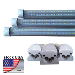 "Tube (US AZIONE) 8FT 72W T8 LED, CRESTECH LED LIGHTING 96"" a V lampadina integrata 7200LM lampade 6000K bianco freddo"